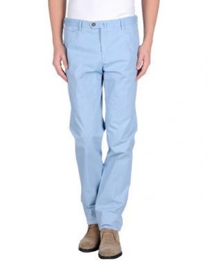 Повседневные брюки EREDI RIDELLI. Цвет: небесно-голубой