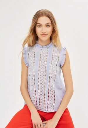 Блуза Topshop. Цвет: фиолетовый
