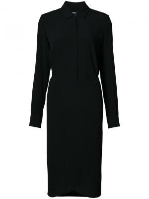 Платье-рубашка Rosetta Getty. Цвет: чёрный