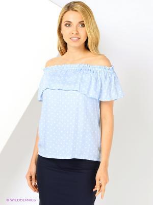 Блузка A.Karina. Цвет: голубой