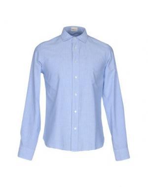 Pубашка TRUE TRADITION. Цвет: синий