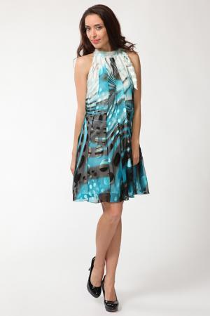 Платье Manys Tune. Цвет: мультицвет