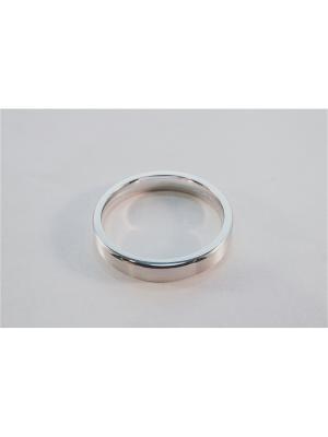 Кольцо обручальное Roberto Bravo. Цвет: серебристый