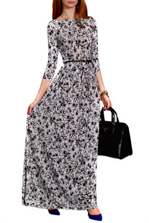 Платье FRANCESCA LUCINI. Цвет: мятный, серый