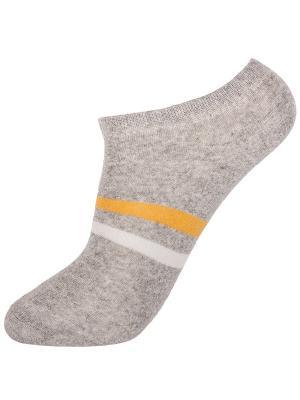 Носки NOSOCKS!. Цвет: серый, белый, желтый