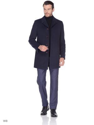 Пальто Berkytt. Цвет: темно-синий