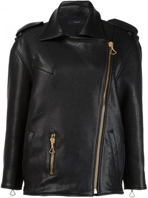 Куртка свободного кроя Ellery. Цвет: чёрный