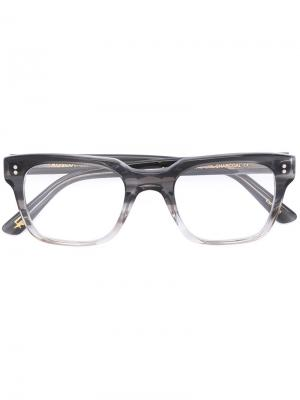 Очки Zayde Moscot. Цвет: чёрный