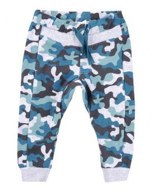Повседневные брюки MIRTILLO. Цвет: светло-серый