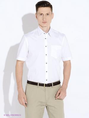 Рубашка LERROS. Цвет: белый