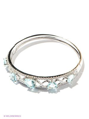 Браслет Lovely Jewelry. Цвет: серебристый, светло-голубой