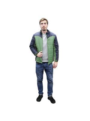 Куртка демисезонная и спиннер в подарок PROFFI. Цвет: зеленый