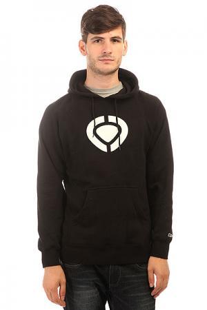 Толстовка кенгуру  Icon Pullover Fleece Black Circa. Цвет: черный