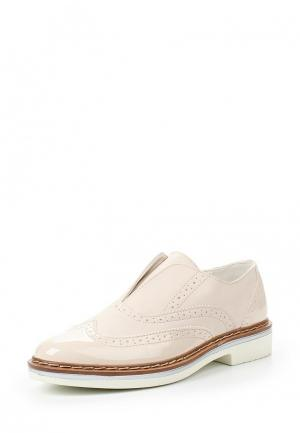 Ботинки Bata. Цвет: бежевый