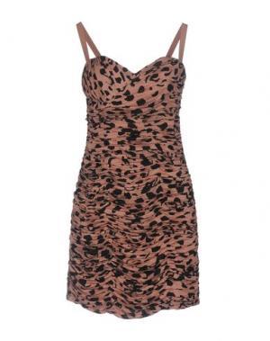 Короткое платье TWENTY8TWELVE. Цвет: телесный