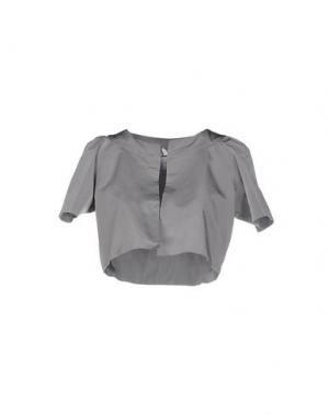 Пиджак PINK BOW. Цвет: серый