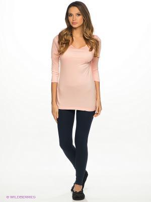 Комплект одежды Vienetta Secret. Цвет: персиковый, темно-синий