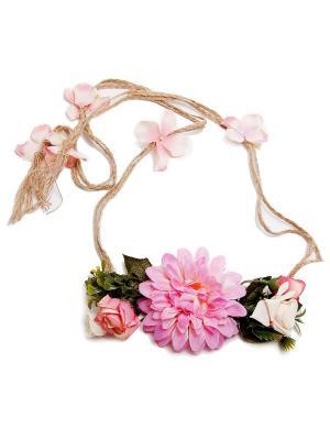 Пояс Kameo-bis. Цвет: розовый, зеленый, молочный