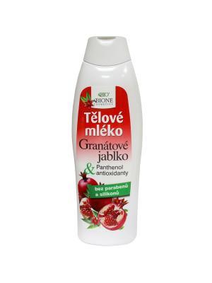 Молочко для тела Гранат 500 мл. BioBione. Цвет: белый