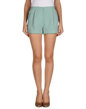 Повседневные шорты EMMA COOK. Цвет: светло-зеленый