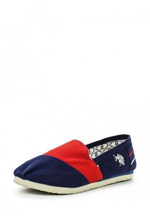Эспадрильи U.S. Polo Assn.. Цвет: разноцветный