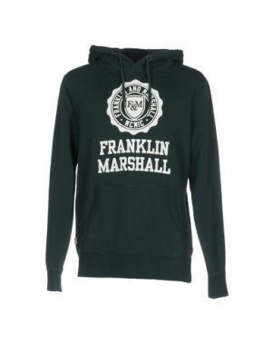 Толстовка FRANKLIN & MARSHALL. Цвет: темно-зеленый