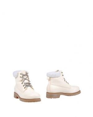 Полусапоги и высокие ботинки DOCKSTEPS. Цвет: слоновая кость