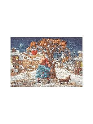 Гобеленовая наволочка ПРОГУЛКА Е.Шишкин)50х70 см Рапира. Цвет: коричневый, голубой