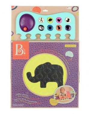 Музыкальные игрушки BATTAT. Цвет: кислотно-зеленый