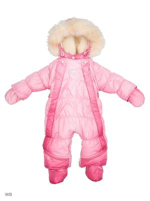 Комбинезон-трансформер для малышей Little Boy. Цвет: розовый