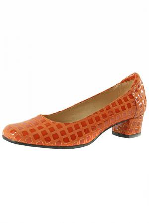 Туфли BOSCCOLO. Цвет: оранжевый