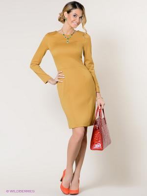 Платье Stets. Цвет: желтый