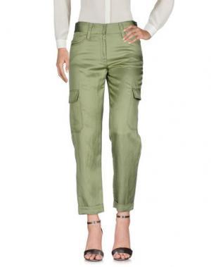 Повседневные брюки NEW YORK INDUSTRIE. Цвет: зеленый-милитари