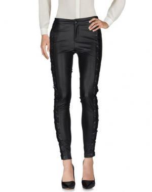Повседневные брюки FOREVER UNIQUE. Цвет: черный