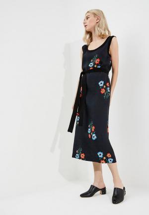 Платье Sonia Rykiel. Цвет: синий