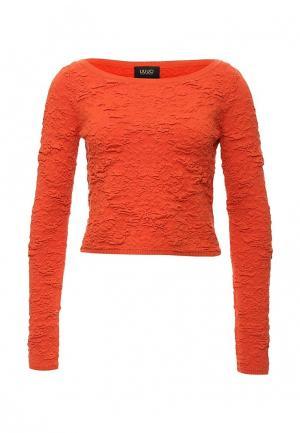 Джемпер Liu Jo. Цвет: оранжевый