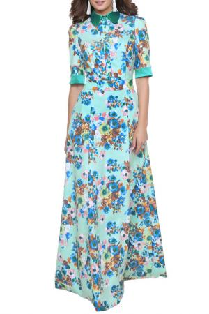 Платье Olivegrey. Цвет: ментоловый