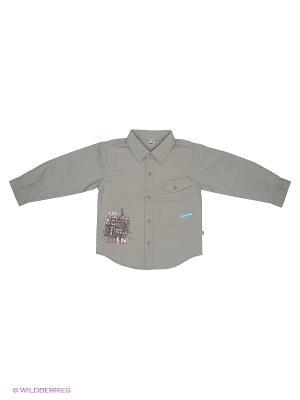 Рубашка Olle. Цвет: серый