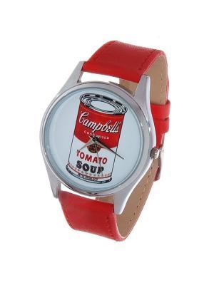 Часы Mitya Veselkov Tomato soup. Цвет: красный