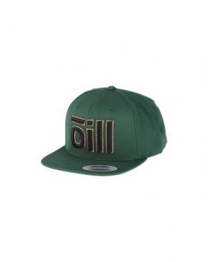 Головной убор ŌILL. Цвет: зеленый