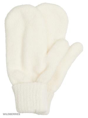 Варежки Vittorio Richi. Цвет: белый