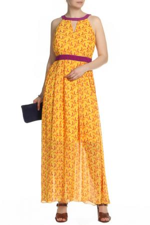 Платье BGN Workshop. Цвет: желтый