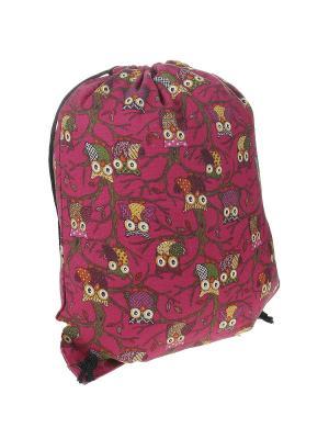 Рюкзак женский Migura. Цвет: розовый, желтый, зеленый