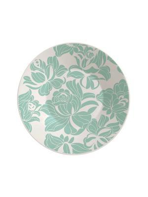Набор тарелок суповых МИНТ 22 см 6 шт Biona. Цвет: серый