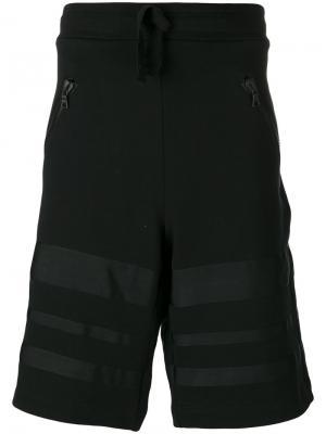 Спортивные шорты на шнурке Christopher Raeburn. Цвет: чёрный