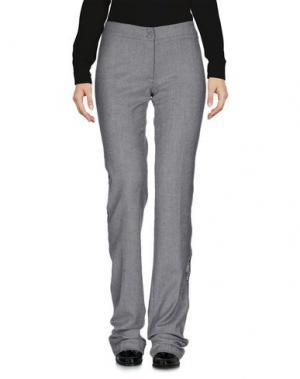 Повседневные брюки CRISTIANO BURANI. Цвет: серый