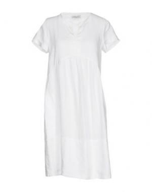 Короткое платье ROSSO35. Цвет: белый