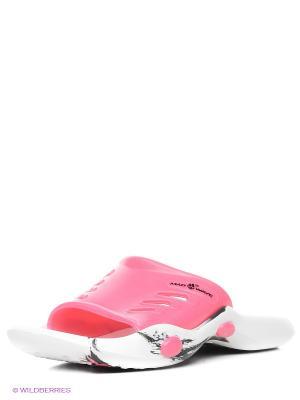 Шлепанцы Mad Wave. Цвет: розовый, белый