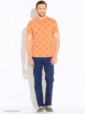 Футболки-поло U.S. Polo Assn.. Цвет: оранжевый
