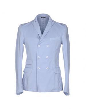 Пиджак DANIELE ALESSANDRINI. Цвет: небесно-голубой